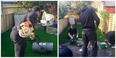 Top Dog Turf artificial grass installation for dogs London