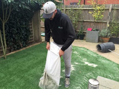 Top Dog Turf Artificial Grass During4