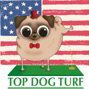 Top Dog Turf Polyurethane backed artificial grass from USA