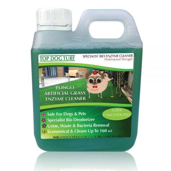 PONGO artificial grass cleaner - Triple Pack 3 Litres