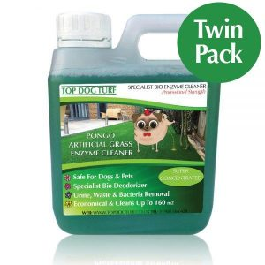PONGO artificial grass cleaner - Twin Pack 2 Litres