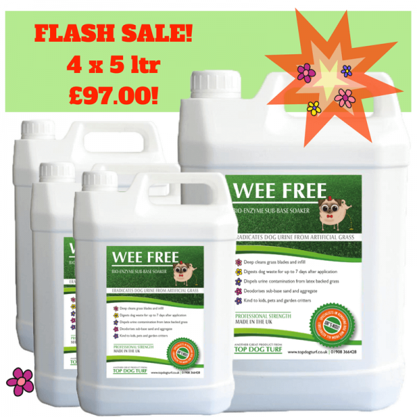 WEE FREE Artificial Grass Cleaner