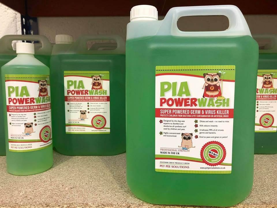 PIA Power Wash - Top Dog Turf
