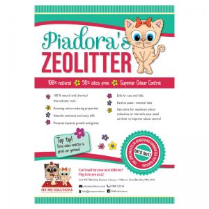 ZeoLitter Odour Control Cat Litter