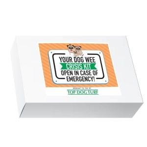 Top Dog Turf dog wee crisis kit