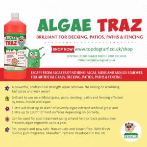 Algae Traz Mould remover for artificial grass
