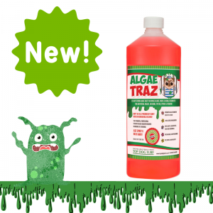 Algae and slime remover for artificial grass