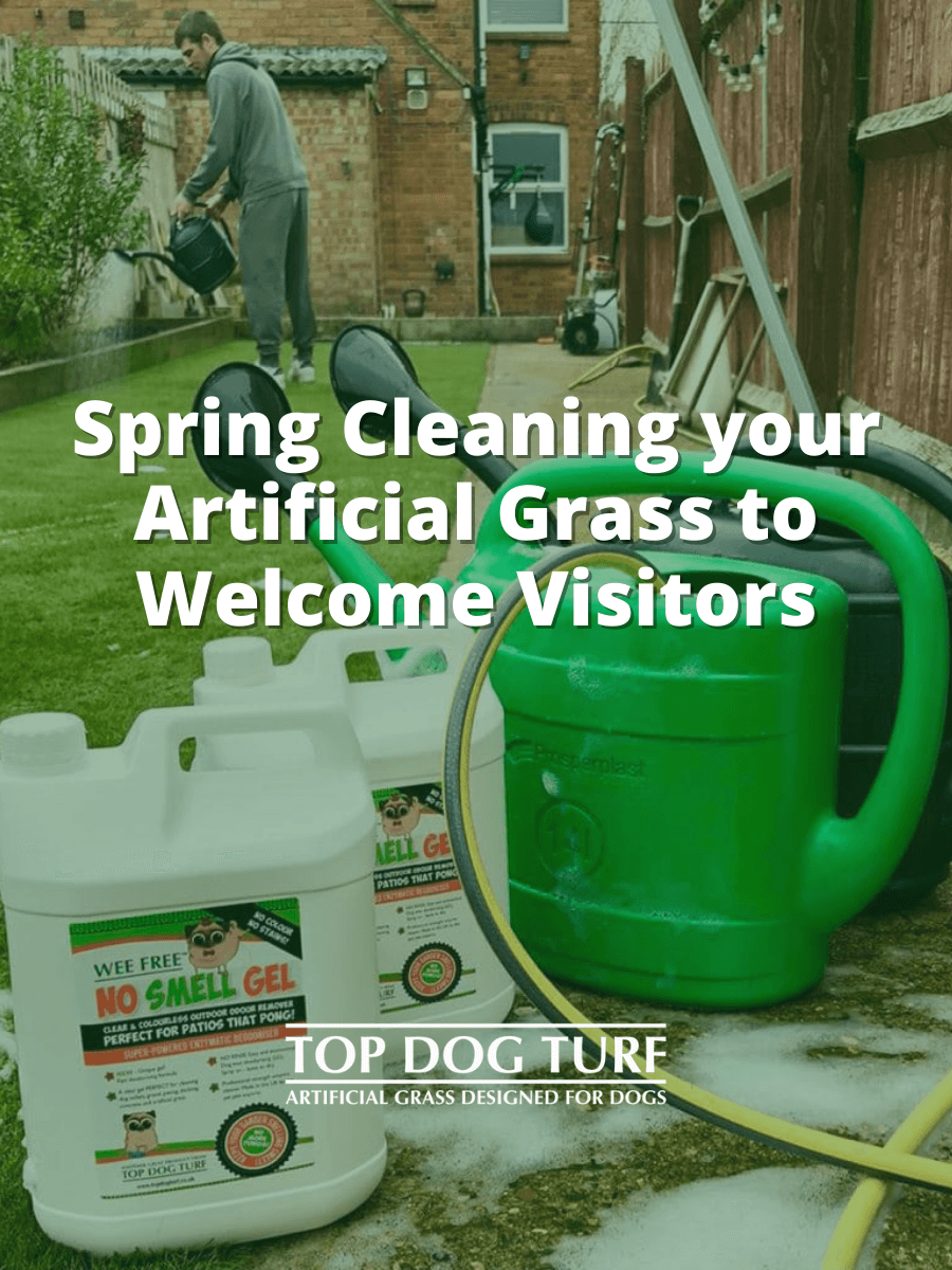 Spring Cleaning Artificial Grass